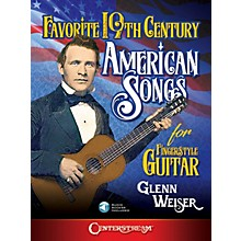 Centerstream Publishing Favorite 19th Century American Songs for Fingerstyle Guitar Book/ Audio Online