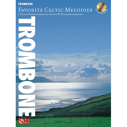 Hal Leonard Favorite Celtic Melodies For Trombone Book/CD