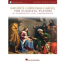 Hal Leonard Favorite Christmas Carols for Classical Players - Clarinet and Piano Book/Audio Online