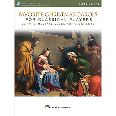 Hal Leonard Favorite Christmas Carols for Classical Players - Flute and Piano Book/Audio Online