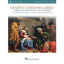Hal Leonard Favorite Christmas Carols for Classical Players - Trumpet and Piano Book/Audio Online