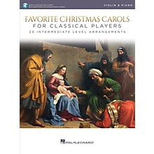 Hal Leonard Favorite Christmas Carols for Classical Players - Violin and Piano Book/Audio Online