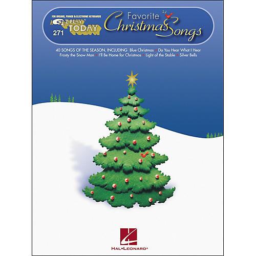 Hal Leonard Favorite Christmas Songs E-Z Play 271