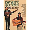 Music Minus One Favorite Folks Songs for Guitar Music Minus One Series Softcover with CD thumbnail