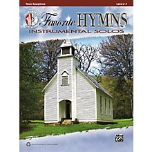Alfred Favorite Hymns Instrumental Solos Tenor Sax Book & CD