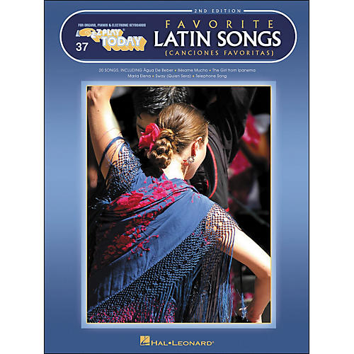 Hal Leonard Favorite Latin Songs 2nd Edition E-Z Play 37