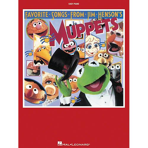 Hal Leonard Favorite Songs From Jim Henson's Muppets For