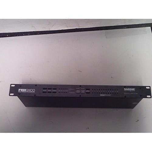 Sabine Fbx2400 Feedback Suppressor