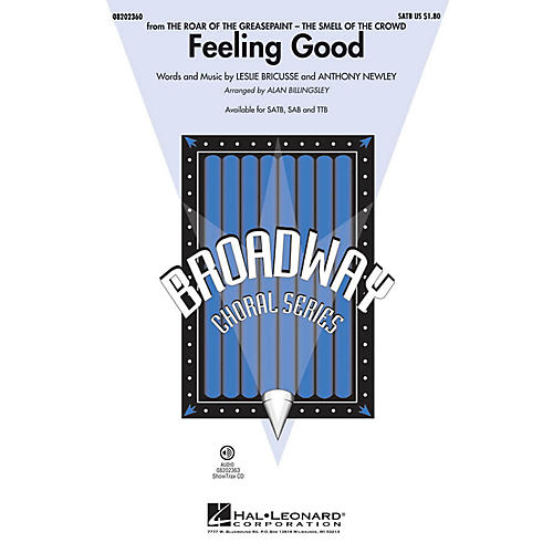 Hal Leonard Feeling Good TTB by Michael Bublé Arranged by Alan Billingsley