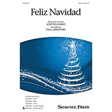Shawnee Press Feliz Navidad 2-Part by Jose Feliciano Arranged by Paul Langford