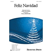 Shawnee Press Feliz Navidad COMBO PARTS by Jose Feliciano Arranged by Paul Langford