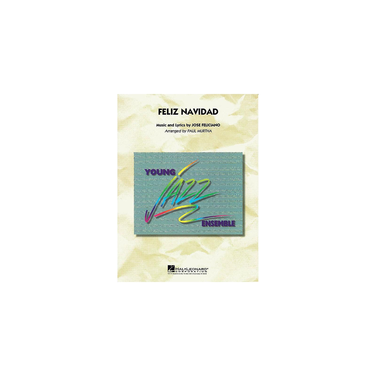 Hal Leonard Feliz Navidad Jazz Band Level 3 Arranged by Paul Murtha