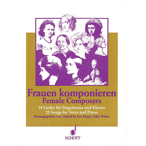 Schott Female Composers (25 Songs) Schott Series  by Various
