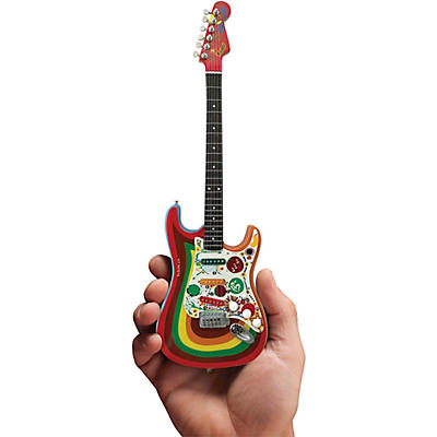 Axe Heaven Fende Stratocaste - Rocky - George Harrison Officially Licensed Miniature Guitar Replica