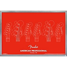Trends International Fender - American Professional Poster