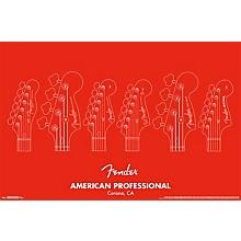 Trends International Fender - American Professional Poster