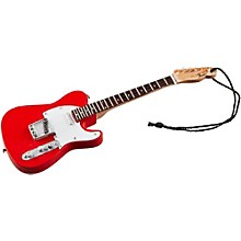 """Axe Heaven Fender '50s Red Telecaster 6"""" Holiday Ornament"""