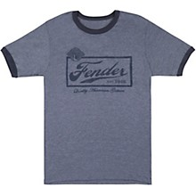 Fender Fender Beer Label T-Shirt - Blue