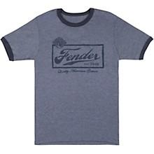 Fender Fender Beer Label T-Shirt - Blue