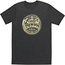 Fender Cali Medallion Men's Tee Small Gray