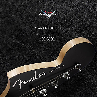 Hal Leonard Fender Custom Shop at 30 Years Book Series Hardcover Written by Steve Pitkin