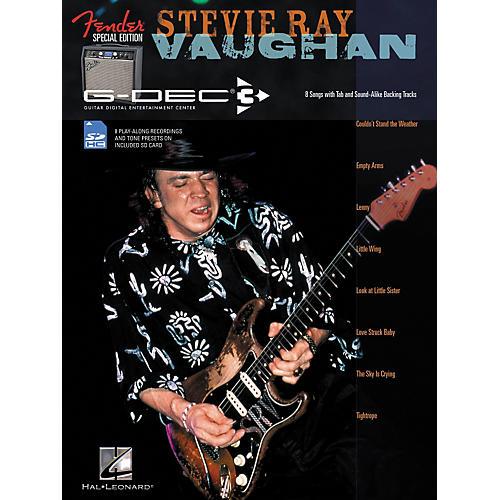 Hal Leonard Fender G-Dec Edition Stevie Ray Vaughan Guitar Play-Along Songbook/SD Card