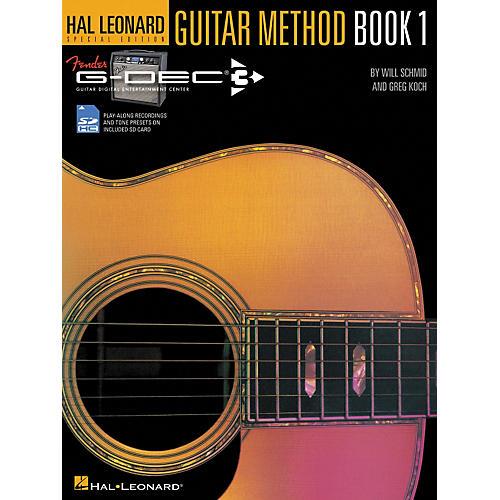 Hal Leonard Fender G-Dec Hal Leonard Guitar Method Book/SD Card