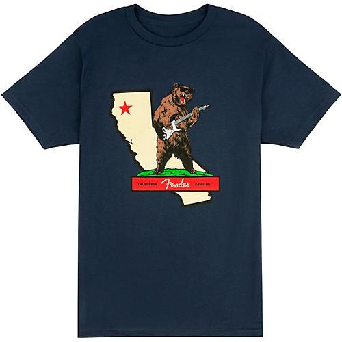 Fender Fender Rocks Cali T-Shirt XX Large Navy