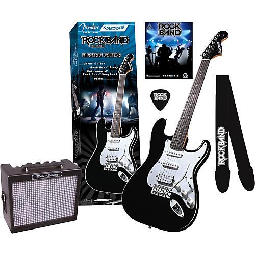 Fender Mini Deluxe Electric Guitar Amp : fender fender starcaster strat rock band electric guitar and mini deluxe amp value pack ~ Hamham.info Haus und Dekorationen