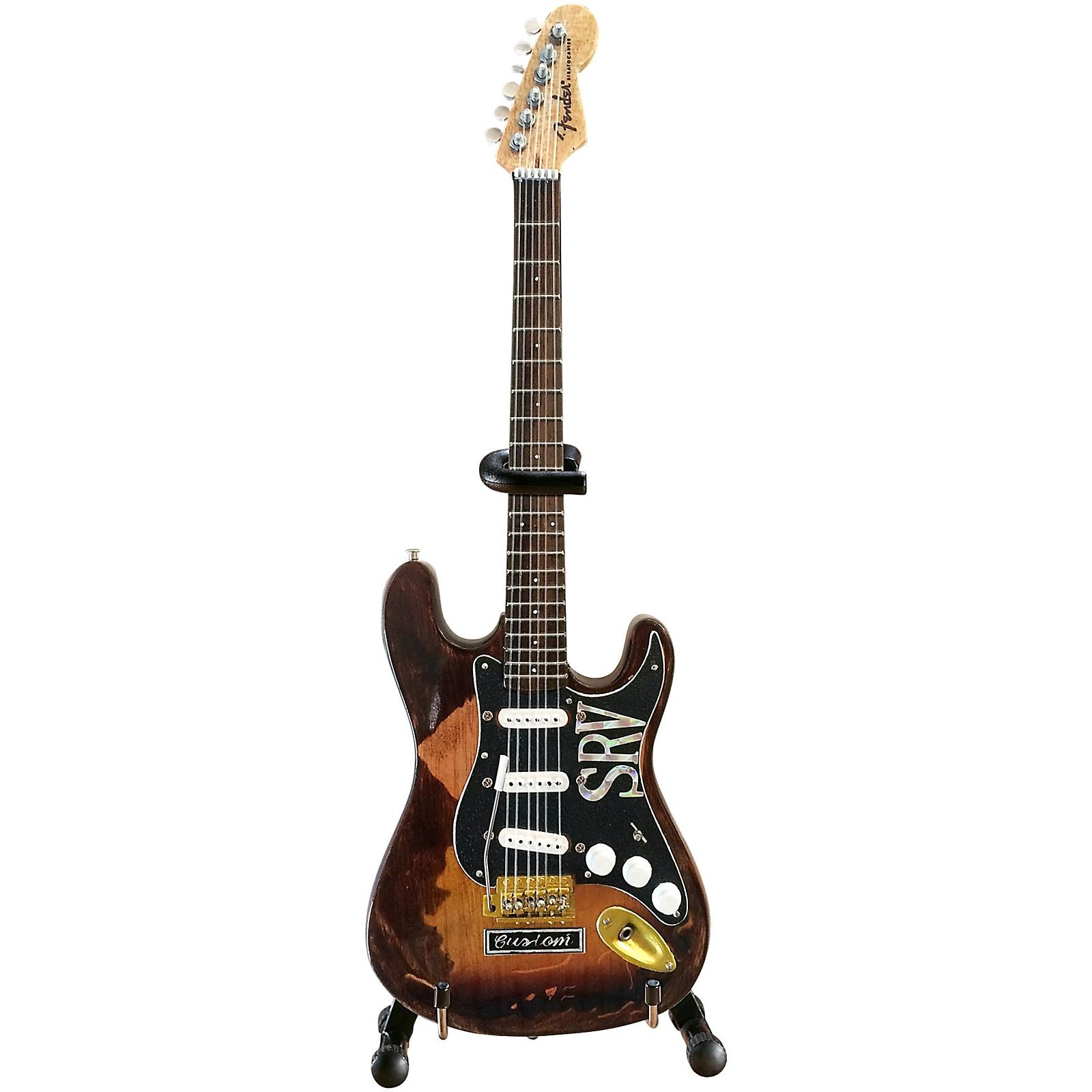 Axe Heaven Fender Stratocaster - Classic Sunburst Finish Officially Licensed Miniature Guitar Replica (SRV Edition)