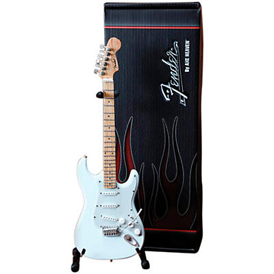 Axe Heaven Fender Stratocaster Olympic White Miniature Guitar Replica Collectible
