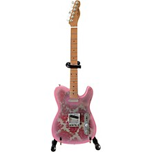 Open BoxAxe Heaven Fender Telecaster - Pink Paisley Mini Guitar
