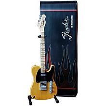 Axe Heaven Fender Telecaster Butterscotch Blonde Miniature Guitar Replica Collectible