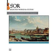 Alfred Fernando Sor Selected Works for Guitar Book