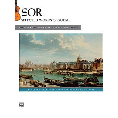 Alfred Fernando Sor Selected Works for Guitar Book