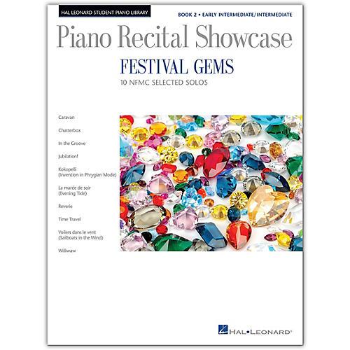 Hal Leonard Festival Gems Book 2-10 Outstanding NFMC Early Intermediate/Intermediate Solos
