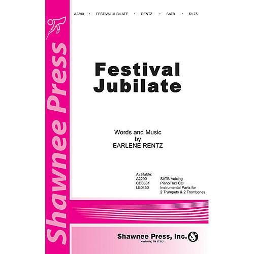 Shawnee Press Festival Jubilate SATB composed by Earlene Rentz