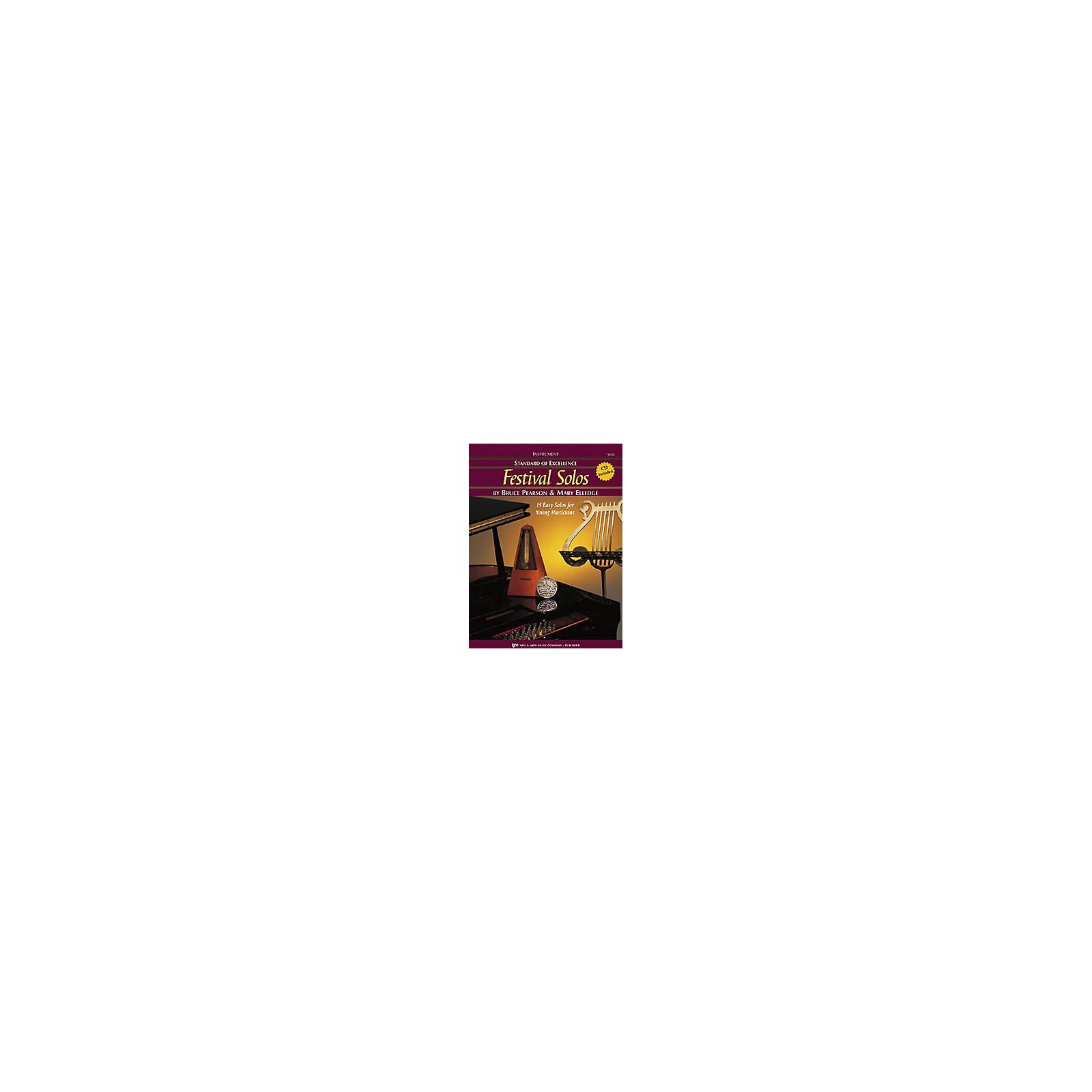 KJOS Festival Solos, Book 1 - Clarinet