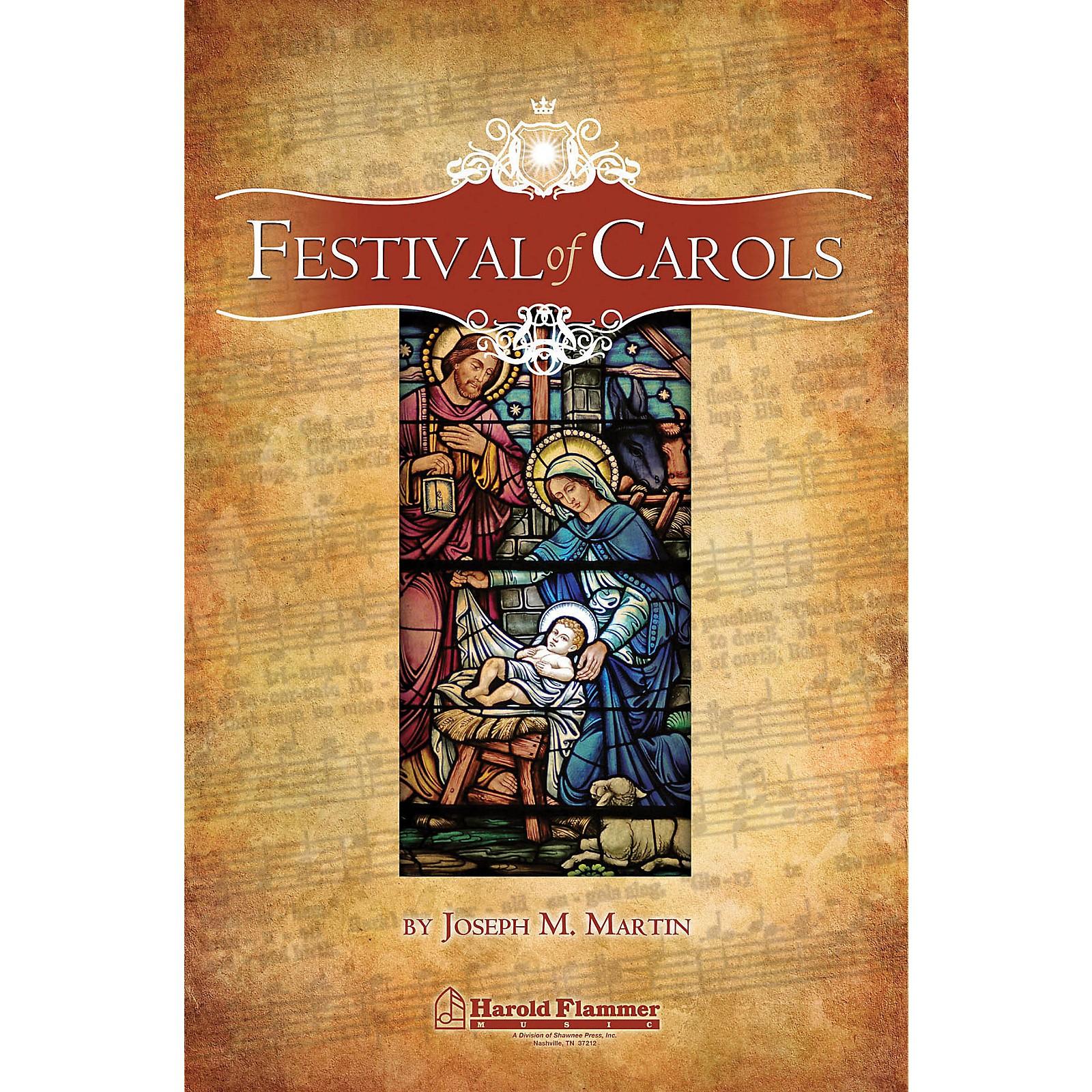 Shawnee Press Festival of Carols (iPrint Handbell Parts (for 5 Songs)) HANDBELLS (2-3) Composed by Joseph M. Martin