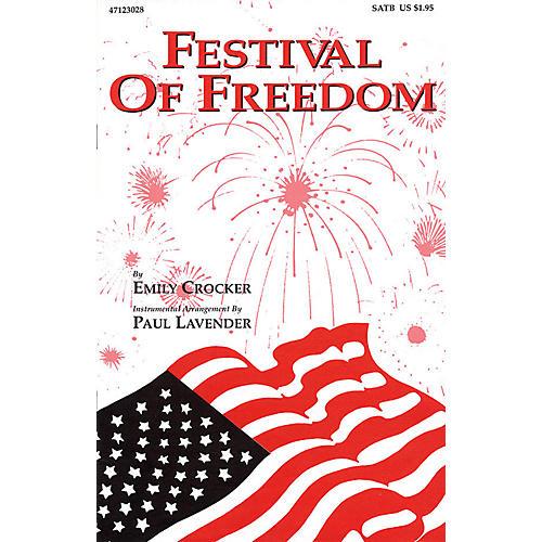 Hal Leonard Festival of Freedom SATB arranged by Emily Crocker