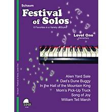 SCHAUM Festival of Solos (Level 1 Elem Level) Educational Piano Book by Various