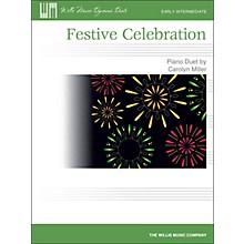 Willis Music Festive Celebration - Early Intermediate Duet Sheet (1 Piano, 4 Hands)