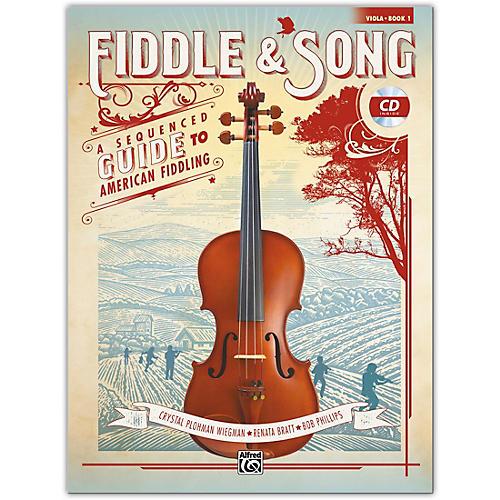 Alfred Fiddle & Song, Book 1 Viola Book & CD Intermediate