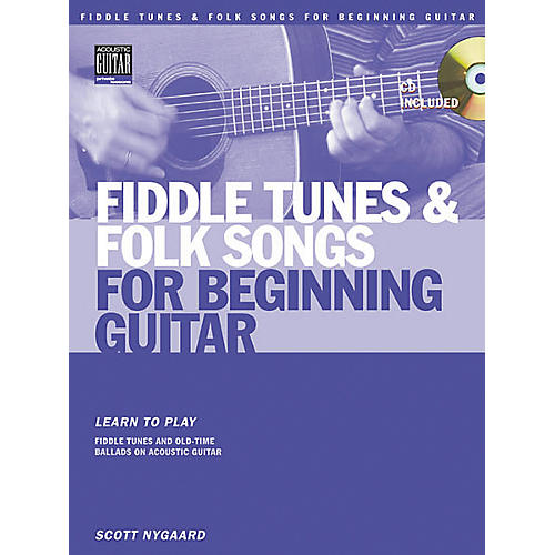 Fiddle Tunes and Folk Songs for Beginning Guitar (Book/CD)
