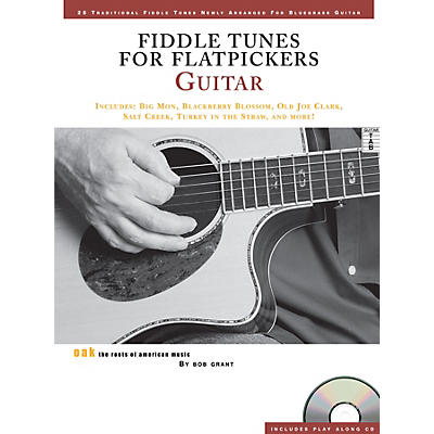 Music Sales Fiddle Tunes for Flatpickers - Guitar Music Sales America Series Softcover with CD Written by Bob Grant