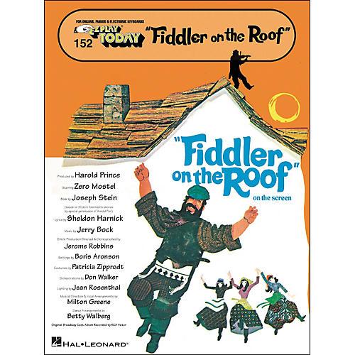 Hal Leonard Fiddler On The Roof E-Z Play 152
