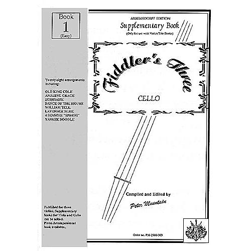 Music Sales Fiddler's Three Cello Supplementary Book 1 Music Sales America Series