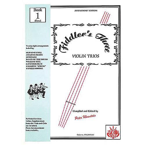 Music Sales Fiddler's Three Violin Book 1 Music Sales America Series