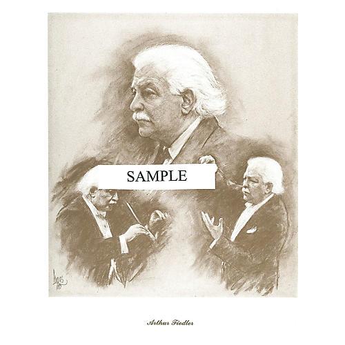 Music Sales Fiedler (Lupas Large Portrait Poster) Music Sales America Series