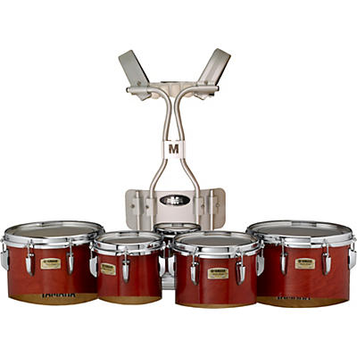 "Yamaha Field Corps 6 8 10 12 13"" Marching Quints with Aluminum Tubular carrier"